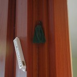 Kabbalistic Amulet on Doorpost